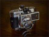 Voigtlander Vito BR (1958) with Proximeter fitted.