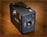 Ensign E-29 box camera, 1930's.