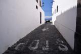 Street towards the sea, Garachico