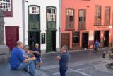 Men in blue, Santa Cruz de la Palma