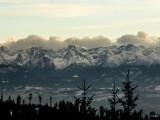 Time for winter hiking - Turbacz from Obidowa