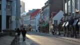 Dans les rues du vieux-Québec
