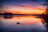 Knockalough Lake Sunset