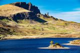 Trotternish Peninsula - with Loch Fada