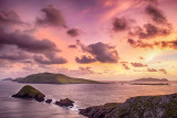 Blasket Islands Sunset