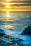 Sunset over Aran Islands