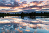 Sunset Reflections - River Shannon
