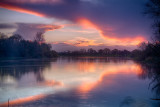 Winter Evening - River Shannon