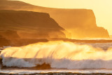 Wild Atlantic Wave at Dusk