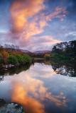 Winter Sunset Reflections -  River Drunminboy