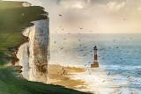 Beachy Head Lighthouse at Dawn