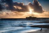 Hastings Pier - Winter Sunset