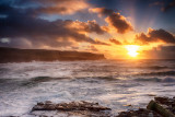 Cliffs of Moher - Winter Sunset
