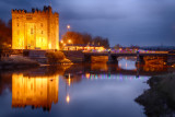 HAPPY NEW YEAR - Bunratty Castle at Night