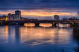 Sarsfield Bridge - Winter Evening