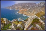 Ireland - Co.Donegal - Cliffs at Slieve League.