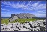 Ireland - Co Galway - Aran Islands - Inis Mor - Dun Eochla fort.
