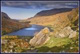 Ireland - Co.Kerry - Killarney - Gap of Dunloe - Turnpike Rock and Black Lough.