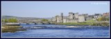 Ireland - Limerick - St Johns Castle and River Shannon.