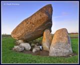Ireland - Co.Carlow - Brownshill Dolmen.