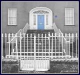 Ireland - Co.Offaly - Birr - Elegant Georgian doorway.