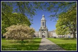Ireland - Dublin - Trinity College - The Campanile.