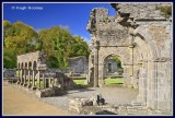 Ireland - Co.Louth - Mellifont Abbey - The Lavabo.
