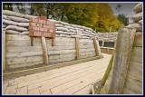 Ireland - Co.Cavan - Ballyjamesduff - Cavan County Museum - WW1 Trench replica.