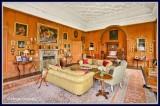 Ireland - Co.Monaghan - Glaslough - Castle Leslie - Drawing Room.