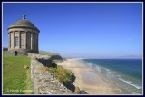 Ireland - Co.Derry - Mussenden Temple is dedicated to Herveys cousin Frideswide Mussenden.