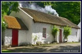 Ireland - Co.Tyrone - Ulster American Folk Park - The Mellon Homestead.