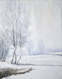 TJITSKE - Winterlandschap - aquarel (niet ingelijst) PSLR-7509.jpg