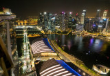 View from the Hotel Marina Bay