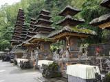 Part of the Pura Ulun Danu Batur Temple