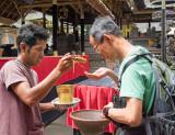 Ceremony in Pura Segara Hulundanu Batur