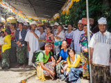 Invited by the people of Village Pura Segara Hulundanu Batur at the Lake Batur