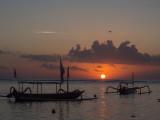 Sunset in Nusa Dua