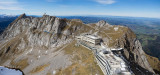 Mount Pilatus with the hotel
