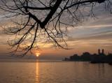 Sunset in Friedrichshafen