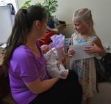 Meeting Little Sister