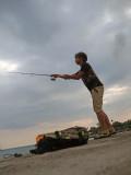 Fishing at the Circus