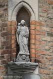 Grauwwerkersstraat 34 - Staande Maria met Kind