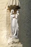 Carmersstraat 84 X Korte Speelmansstraat - Staande Maria met Kind