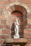 Korte Rijkepijndersstraat 18 - Staande Maria met Kind