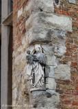 Wijnzakstraat 2 X St-Jansstraat-staande Maria met Kind