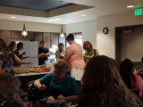 The Caterers (In Black) Of Our Sumptious Feast