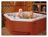 Russian Ambassador Sergey and Donald Share a Private Hot Tub