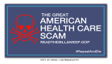 The Great American Health Care Scam poster
