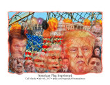 American Flag Imprisoned