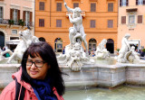 Une touriste